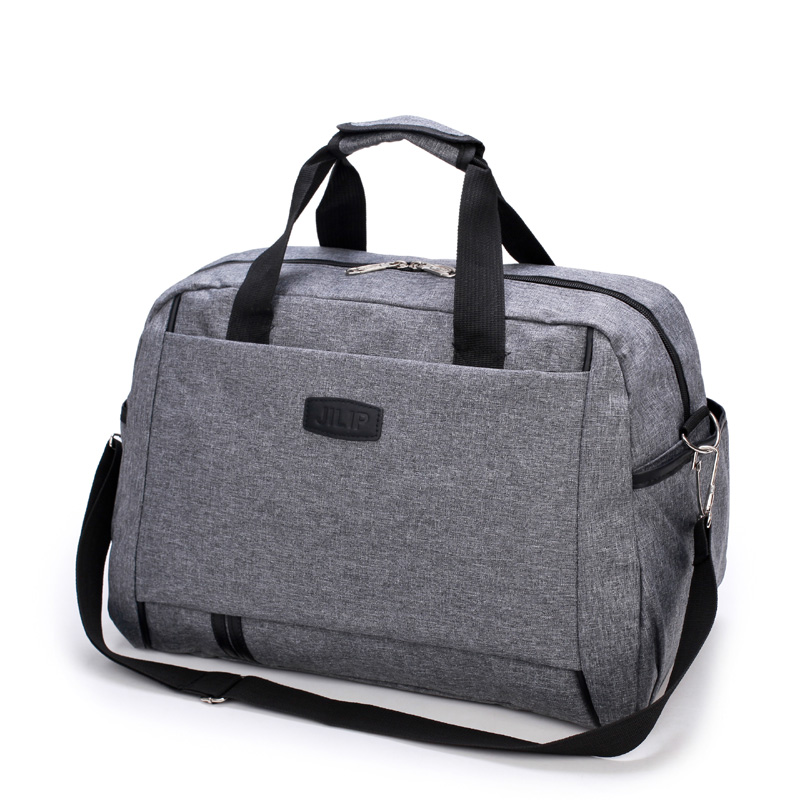 Nylon Travel Bags Women Large Capacity Luggage Duffle Bag Casual Weekend Tote Traveling Bag 30%Off T433