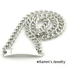 50 cm * 9mm Nuevo Elemento Colgante Blanco Engravble KN045 ID 316 de Acero Inoxidable Collar de la joyería accesorios Regalos Al Por Mayor
