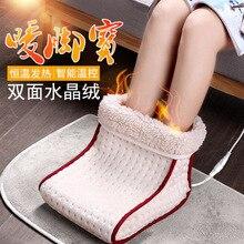 מחומם תקע סוג חשמלי חם רגל מתחמם רחיץ מתחמם בקרת הגדרות כרית חם תרמית רגל מתחמם מסז