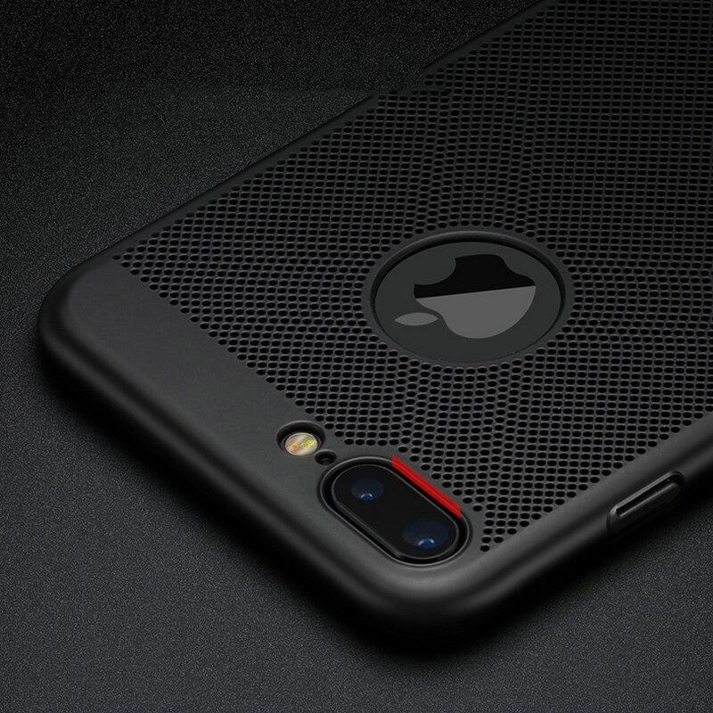 För Apple iPhone 5s SE 5 6 6s 7 Plus Väska 360 Matt hårt - Reservdelar och tillbehör för mobiltelefoner - Foto 4