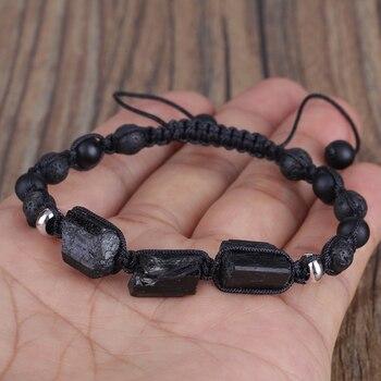 Bracelet Homme Tourmaline Noire