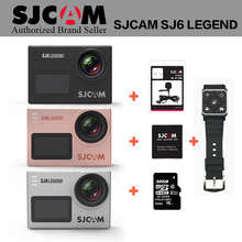 Original SJCAM SJ6 LEGEND Cam WiFi 4K 24fps Ultra HD Notavek 96660 Waterproof Action Camera 2″ Touch Screen Remote Sports