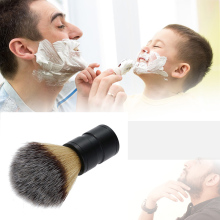 Badger Shaving Brush Aluminum Handle Mustache Brushes Men Cleansing Barber