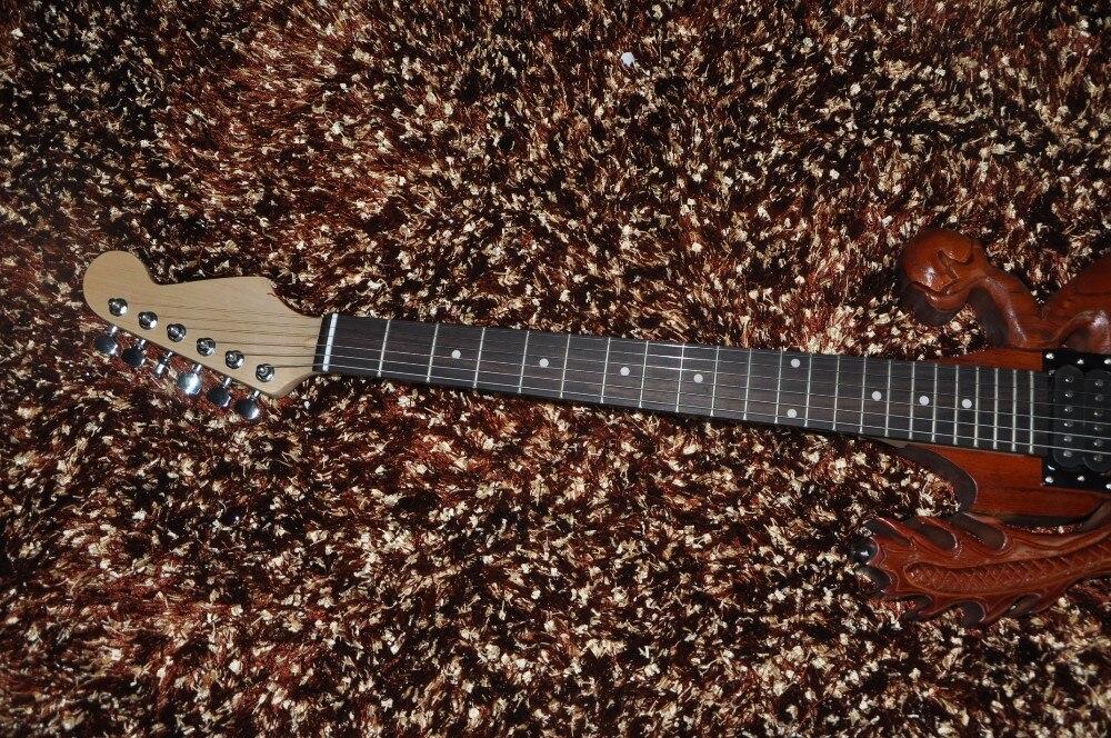Eccezionale 6 corde chitarra elettrica chitarra Personalizzata Intagliato in  XC51