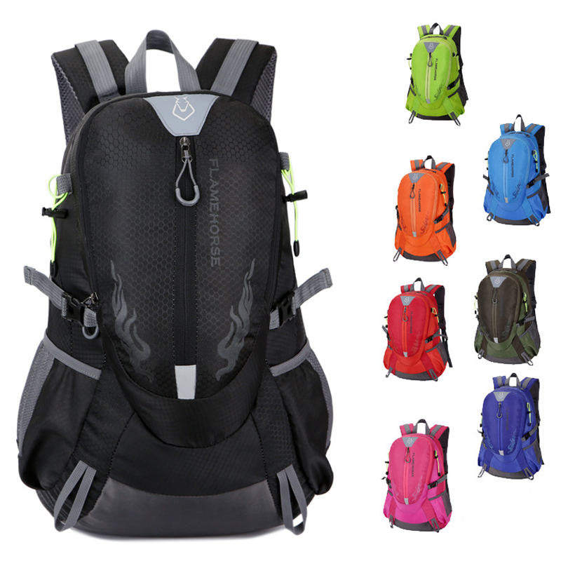2019 New 40L Unisex Men Backpack Travel Pack Sports Bag Pack Outdoor Mountaineering Hiking Climbing Camping Backpack For Male