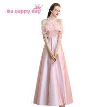 women long formal sexy cheap pink elegant party time formals ladies halter prom  dress women dresses dbc1d7cf7910