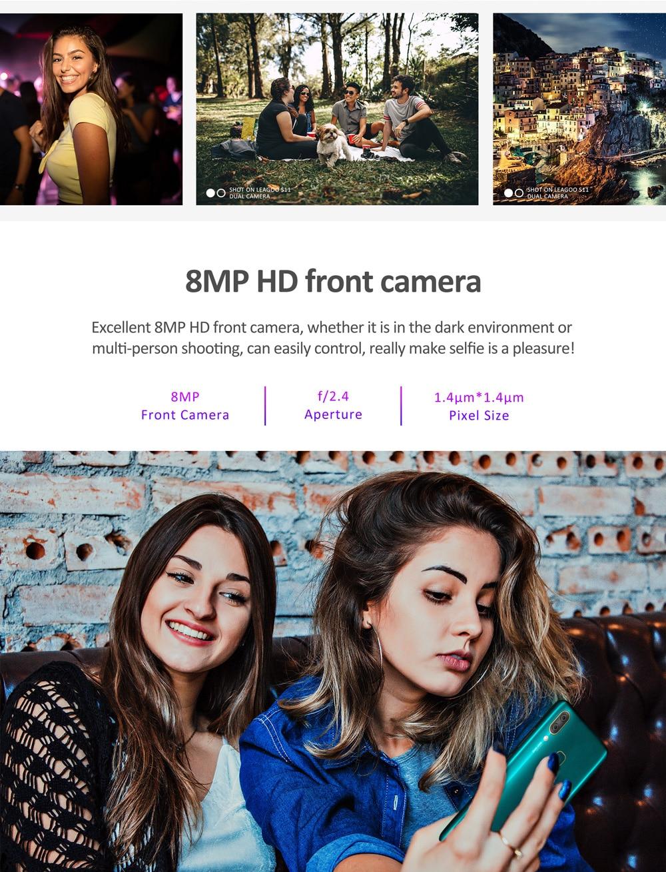 "HTB1wY OXNv1gK0jSZFFq6z0sXXa0 LEAGOO S11 4GB 64GB Mobile Phone Android 9.0 6.3"" Waterdrop Display Helio P22 Octa Core 13MP Dual Camera Fingerprint Smartphone"