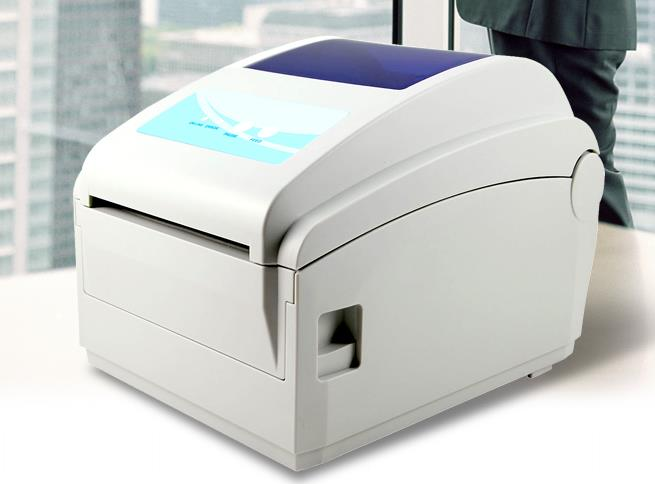 2015 NEW GP1124D Barcode printers clothing label Large label printer Support 108mm Width printing Print speed is very fast