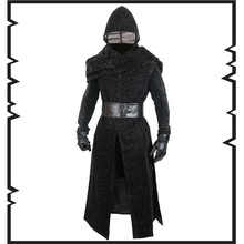 Movie Cosplay Star Wars: The Force Awakens Kylo Ren  Jedi Knight   Cosplay Costumes Overcoat halloween costumes  European  size star wars the force awakens kylo ren pvc action figure collectible model toy swfg083