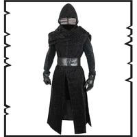 Movie Cosplay Star Wars: The Force Awakens Kylo Ren Jedi Knight Cosplay Costumes Overcoat halloween costumes European size