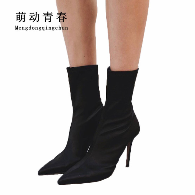 New Fashion Damens Pointed Toe Ankle ... Stiefel Sexy High Heels Stiefel ... Ankle 007ce5