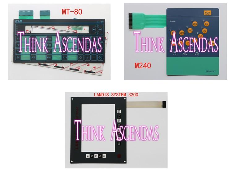 1pcs New SAE MT-80 / M240 DM10 Defi-Monitor Joule DM10 DM30 M240 DM1 EC01 1 EC01 2 / LANDIS SYSTEM 3200 Membrane Keypad цена
