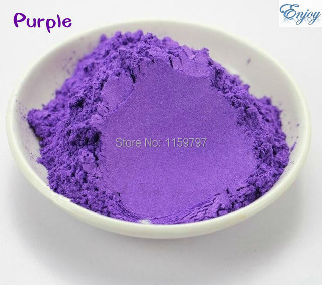 Purple Multipurpose Pearlescent Pigment,Purple color mica powder for make up 500g/lot