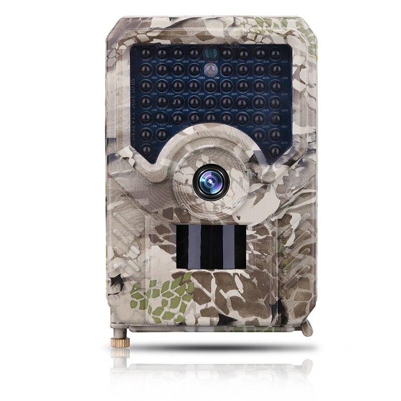 Caméra de sentier 12MP 49 pièces 940nm IR LED caméra sauvage IP56 étanche 18650 batterie caméra extérieure Vision nocturne