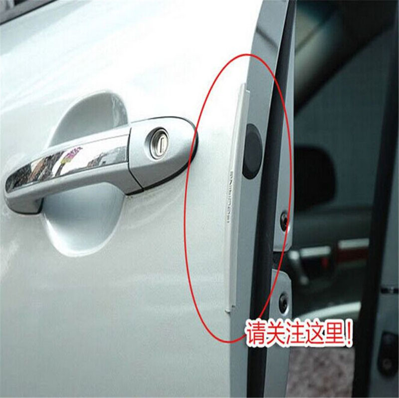 Car Door Edge Guards Trim Molding Scratch Protector For Nissan 350Z 370Z AD  Almera Classic Altima Armada Avenir Juke Nismo
