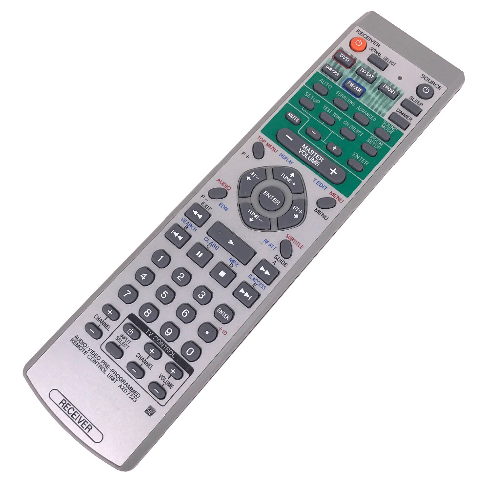 Used Remote control For Pioneer AXD7323 DVD/TV/FM 3d42738i tv remote receiver receives board juc7 820 00047872 used disassemble