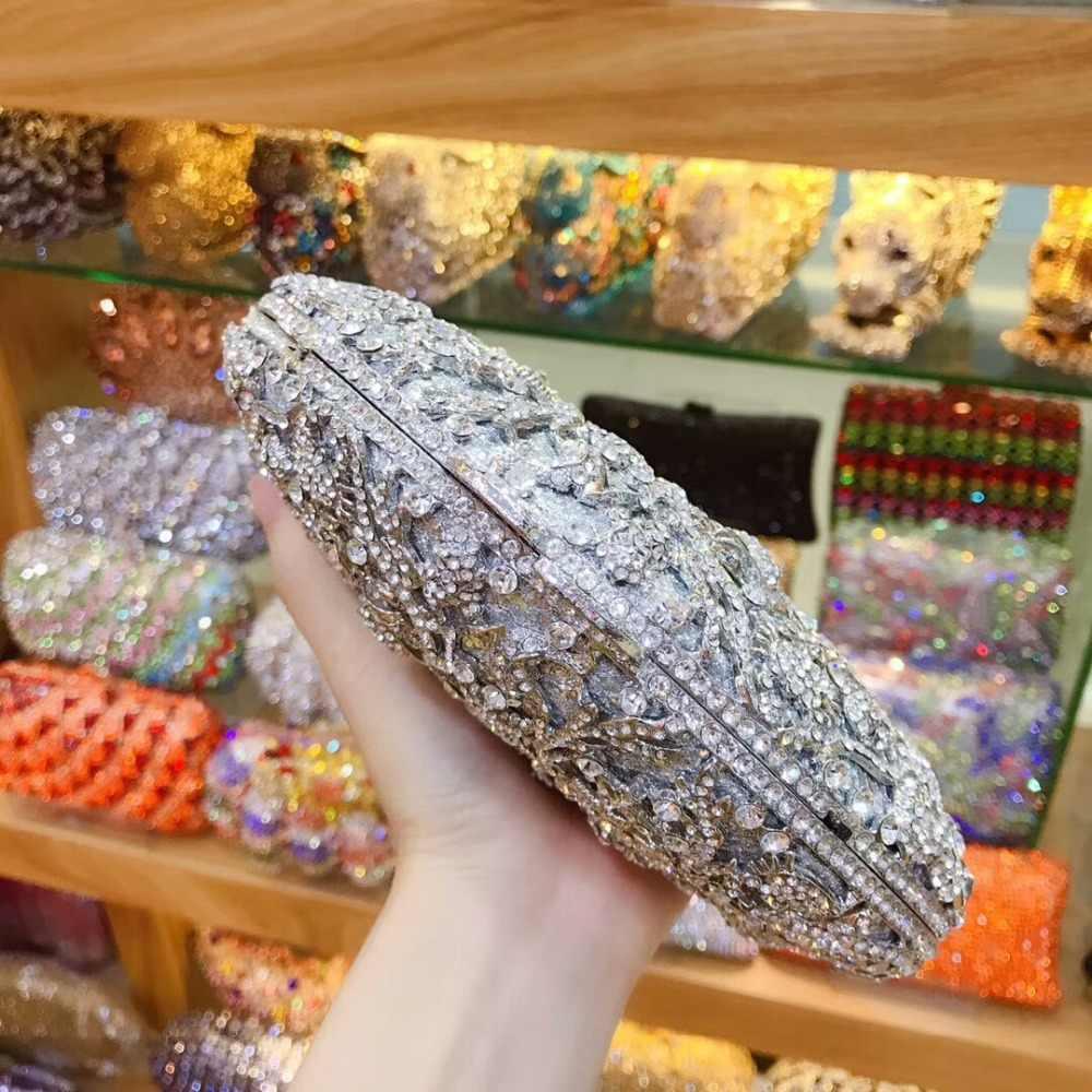 XIYUAN бренд женский синий/серебристый/Золотой сумочки со стразами клатч свадебный кошелек через плечо сумка через плечо сумки на плечо леди