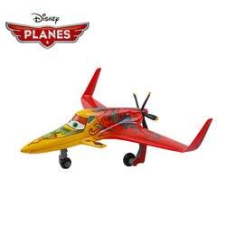 Оригинальный disney Самолеты Pixar 2 № 6 IshanI 1:55 Diecast металлического сплава Игрушечная модель самолета игрушка для детей мальчиков Рождественский