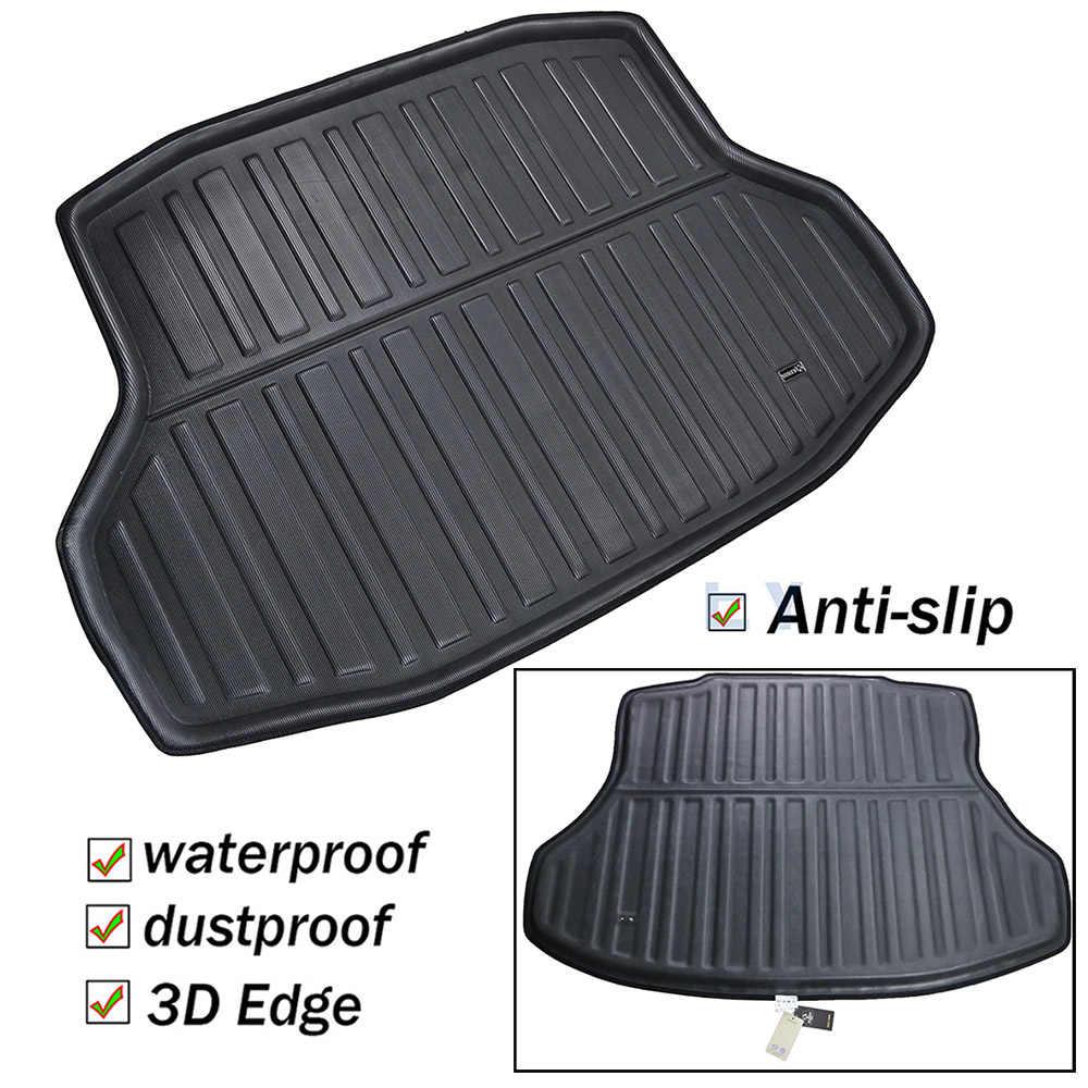 Honda Civic Floor Mats >> For Honda Civic Sedan 2016 2017 2018 2019 10th Gen Boot Tray Cargo Liner Floor Mat Carpet Rear Trunk Mat Tray Mud Protector
