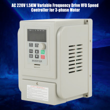 цена на AC 220V 1.5KW Variable Frequency Drive VFD Speed Controller Inverter Motor Drive Frequency Converter VSD