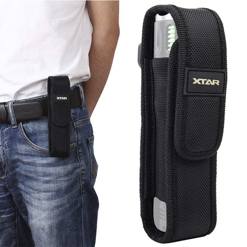 Multifunctional Tactical Flashlight Pouch LED Torch Holster Case Cover Outdoor Camping Hiking Hunting Tools Survival Kits