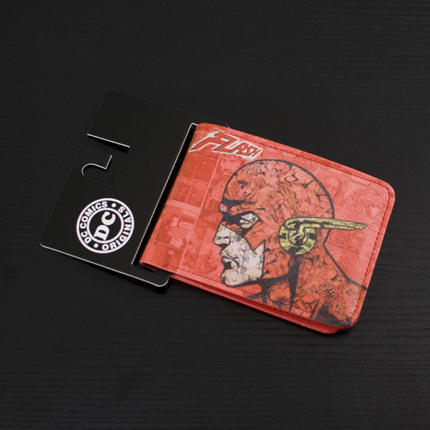 Comics DC Marvel Men Wallet Leather Purse Flash Anime Print Card Holder Bags Branded New carteira masculina Wallets comics dc marvel dollar price wallets men women super hero anime purse creative gift fashion leather bags carteira masculina