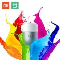 Original Xiaomi Mijia RGB LED Smart Bulb E27 9W 600 Lumens Mi Light Smart Phone WiFi