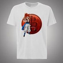 NEW Style 2018 cool design Super Saiyan T-shirt Goku Dragon Ball Z Free shipping  Harajuku Tops Fashion Classic Unique