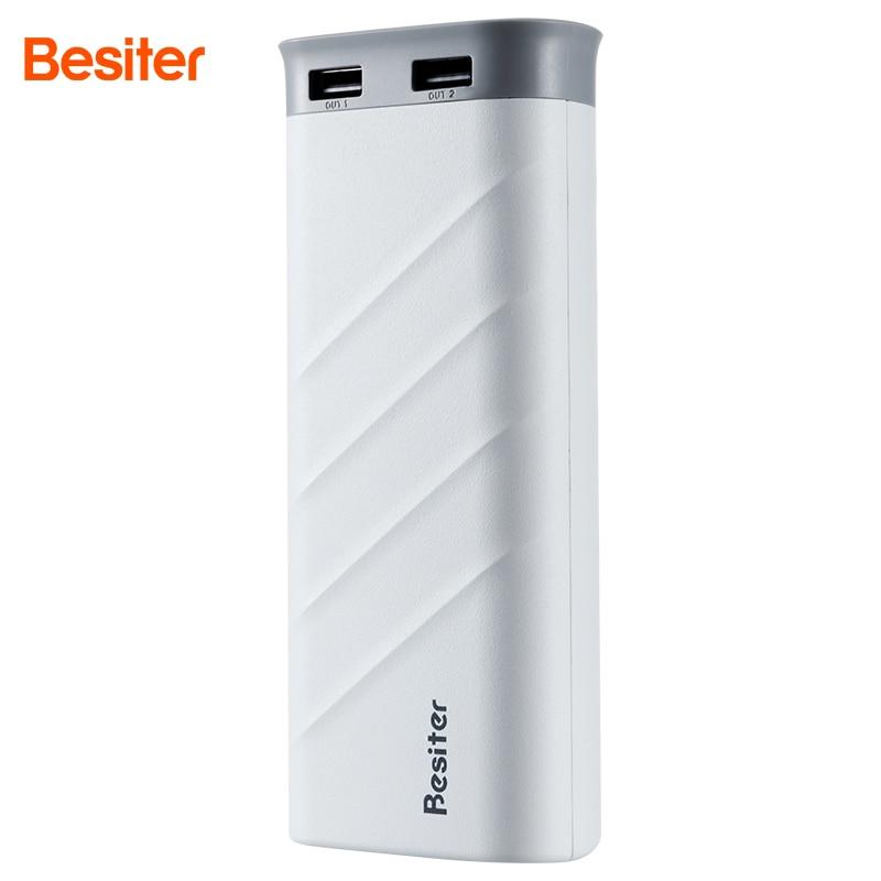 bilder für Besiter Energienbank 20000 mah Portable Handy-ladegerät Für Handys Externes Ladegerät Batteriebank für Mobiltelefone