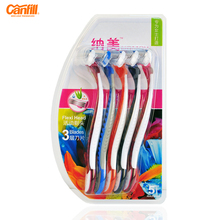 canfill 5pcs/lot Manual Disposable Razor For Women Shaving Triple Blades Rotary Head Colorful Epilator barbeador navalha KL-T530(China)