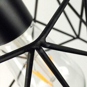 Image 5 - Amerikanischen Rustikalen Industrielle Anhänger Lichter Küche Insel Lampe Cafe Hängen Licht Moderne Leuchten Nordic Minimalistischen Lampe