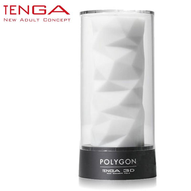ФОТО TENGA 3D Polygon Masturbation Cup Male Masturbator Sex Cup for Men Soft High-grade Aircraft Cup Sex Toys for Men TNH-004