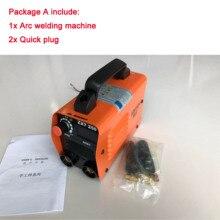 250А 110-250 В компактный мини MMA сварочный аппарат инверторный дуговой сварочный аппарат