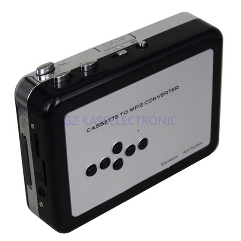 2017 new cassette capture card  convert cassette in MP3 converter  usb walkman player SD TF Card  Free shipping 2017 new cassette capture card capture cassette tape to mp3 in sd card directly no pc required free shipping