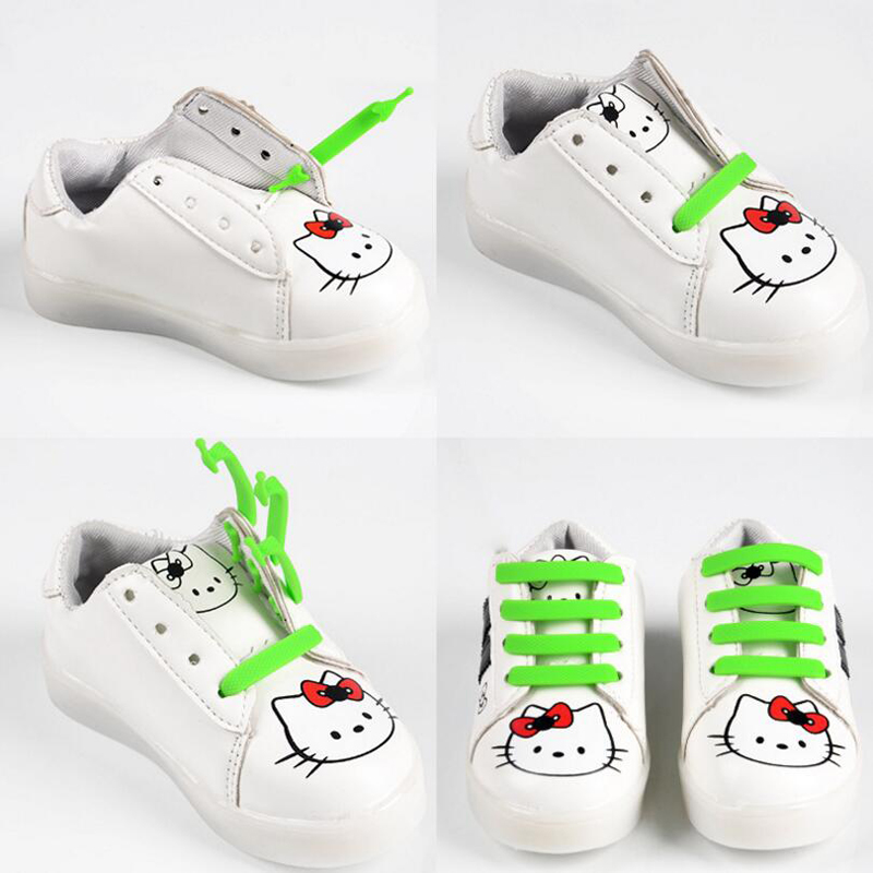 Mr. Niscar 1 Set / 12 Stks Rubber Slip Sneaker Elastische - Schoenaccessoires - Foto 5