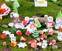 Santa Claus , Snowman microlandscape Decorating Christmas gifts christmas snowman santa claus mesh panel dress