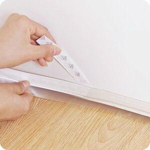 Image 3 - vanzlife bottom sealing strip self adhered door window sound insulation antivibration  Bedroom glass door moving windproof tape