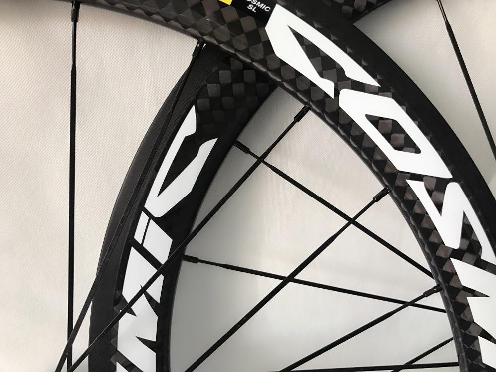 700C 50mm profondeur vélo de route carbone roues 23mm largeur vélo pneu carbone roues expédition rapide