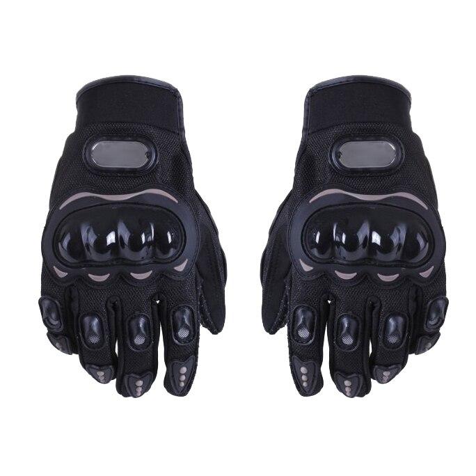 Good deal 1 Pair <font><b>Motorcycle</b></font> <font><b>Gloves</b></font> <font><b>Racing</b></font> <font><b>Gloves</b></font> Fiber PU <font><b>Black</b></font> <font><b>-</b></font> <font><b>L</b></font>
