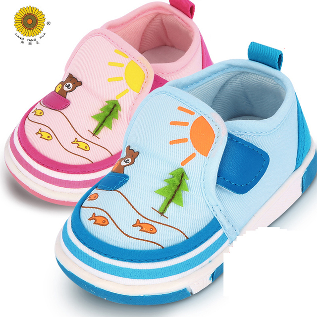Newborn Tassel Lovely Soft Bottom Lace-Up Shallow First Walkers Cotton Solid Spring/Autumn Cotton Fabric Shoes Baby Moccasins