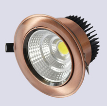 Newest 10w/15w/20w New Very Bright LED COB chip downlight Recessed Ceiling light Spot Light Lamp White/ warm white CE/ROHS