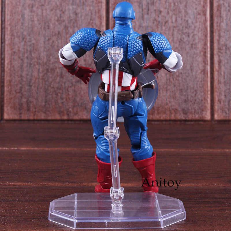 «Мстители», «I Am 007 Капитан Америка рисунок с символикой «Мстителей» (фигура куклы ПВХ, движущаяся фигурка, Коллекционная модель, игрушка