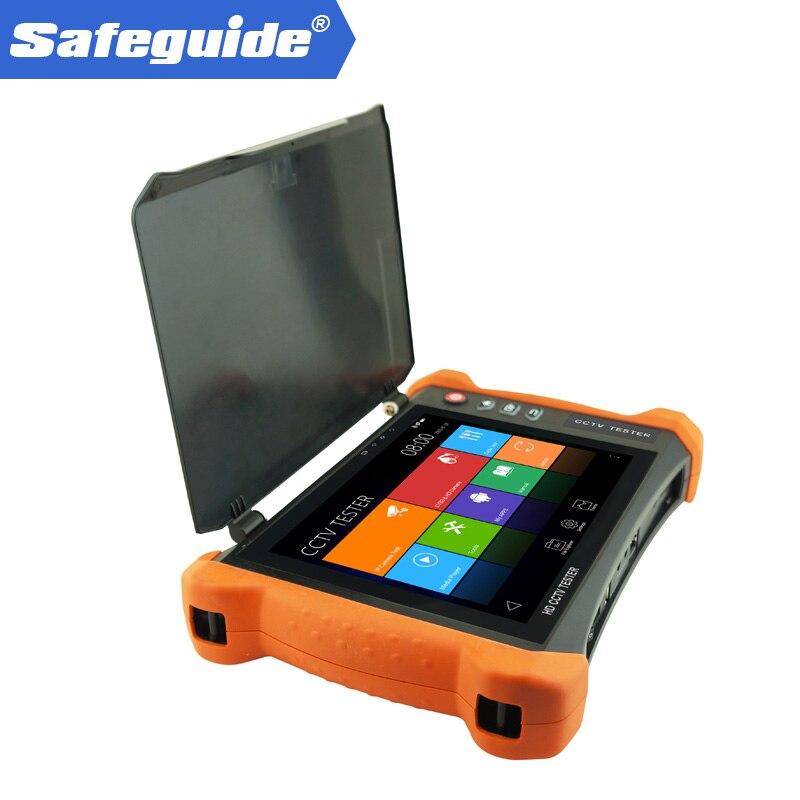 Sécurité intelligente X9-MOVTADHS Multimètre Numérique compteur de puissance Optique de câble TDR l'épreuve 8 pouce H.265/H.264, 4 k HDMI sortie caméra ip
