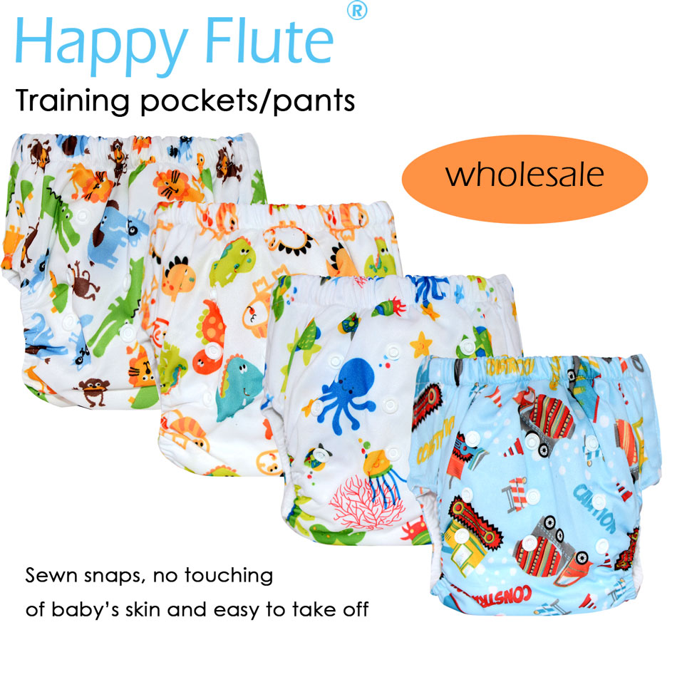 Pelatihan Happy fluteizeize & popok saku, luar tpu, tahan air dan - Popok dan pelatihan toilet