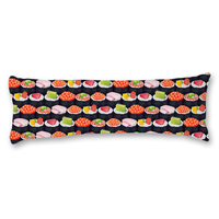 New Brand Pattern Pillowcase Non Toxic Long Body Pillow Cover Cotton Polyester Blend Protector Case High