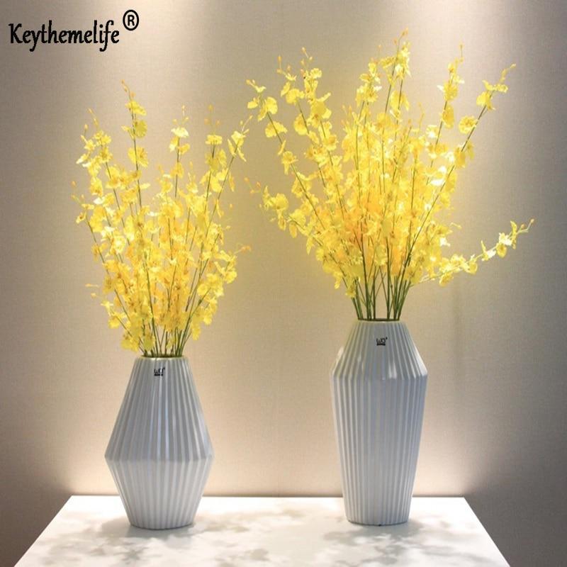 Fiori artificiali Piante artificiali Foglia finta Phalaenopsis - Per vacanze e feste
