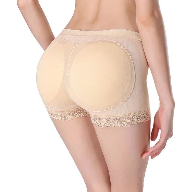 93d1f256ff 2017 New Sexy Women Padded Bum Pants Enhancer Shaper Butt Lifter Booty  Boyshorts Underwear