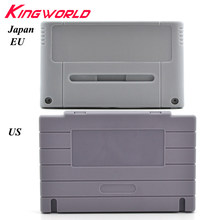 16bit Game Cartridge Replacement Plastic card Shell for Nintendo For SNES game Console (US JP EU Version )(China)