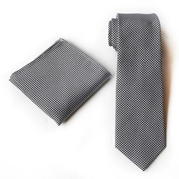 Vogue Men Silk Tie Set Woven Jacquard Gold Polka Dot Necktie Hanky  Set for Wedding Business Gift polka dot asymmetrical tankini set