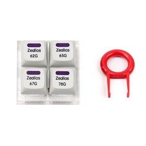 Image 1 - Interrupteur Zealios v2 interrupteur violet Zealio (Tactile) testeur de commutateur 62g 65g 67g 78g
